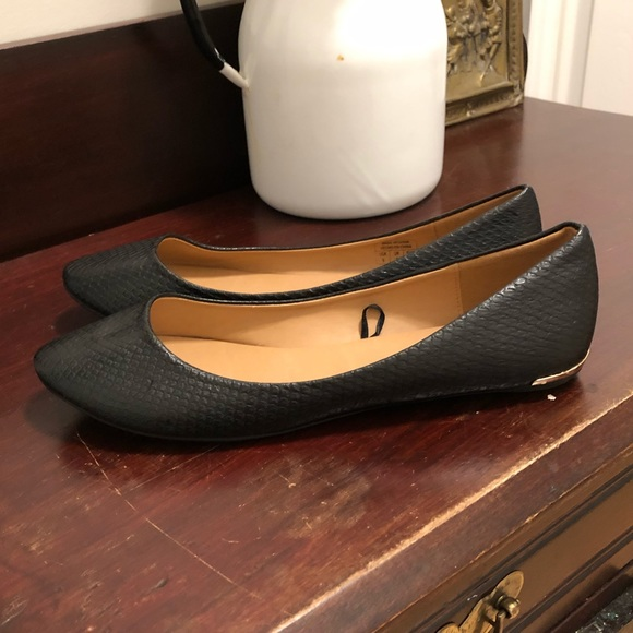 3 for $20! Call it spring black flats.